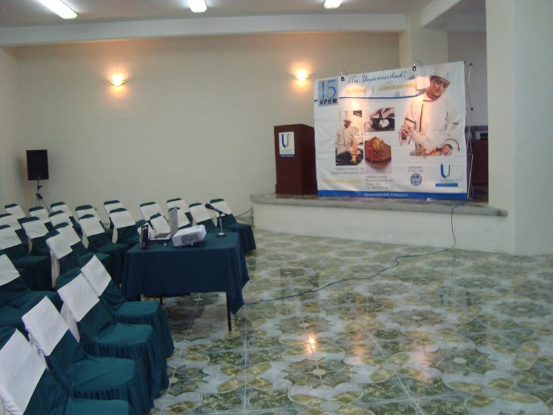 Auditorio de conferencias y eventos